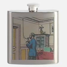 19th century speaking tube Flask
