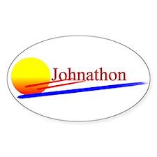 Johnathon Oval Decal