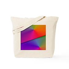 Origami Rainbow Twin Duvet-Stadium Blanke Tote Bag