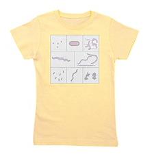 Bacteria shapes, artwork Girl's Tee