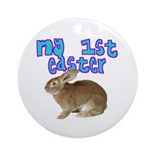 My 1st Easter (Bunny) Ornament (Round)