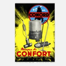Conord domestic appliance Postcards (Package of 8)