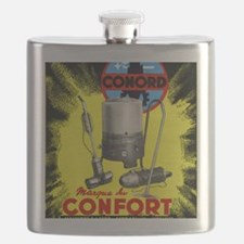 Conord domestic appliances advert, 1949 Flask