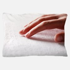 Braille reading Pillow Case
