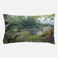 Jurassic life, artwork Pillow Case