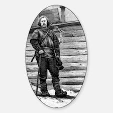 Fridtjof Nansen, Norwegian explorer Sticker (Oval)
