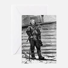 Fridtjof Nansen, Norwegian explorer Greeting Card