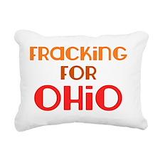 fracking_for_ohio_utica_ Rectangular Canvas Pillow
