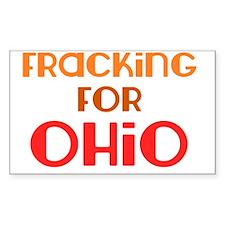 fracking_for_ohio_utica_shale Decal