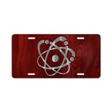 atom-steelwood-OV Aluminum License Plate