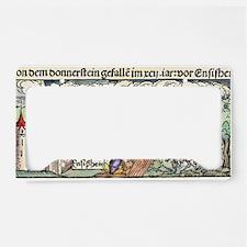 Ensisheim meteor fall, 1492 License Plate Holder