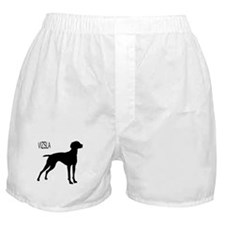 Vizsla Silhouette Boxer Shorts