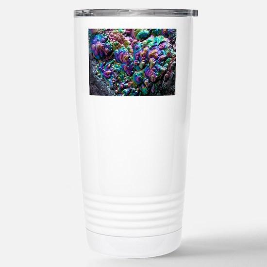 Goethite crystals Stainless Steel Travel Mug