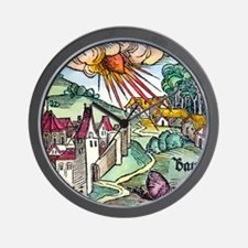 Ensisheim meteor fall, 1492 Wall Clock
