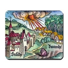 Ensisheim meteor fall, 1492 Mousepad