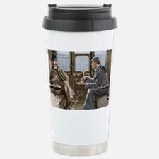 Sherlock Holmes and Dr. Stainless Steel Travel Mug