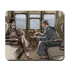 Sherlock Holmes and Dr. Watson Mousepad