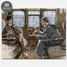 Sherlock Holmes and Dr. Watson Puzzle