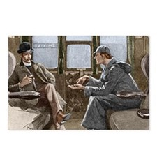 Sherlock Holmes and Dr. W Postcards (Package of 8)