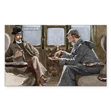 Sherlock Holmes and Dr. Watson Decal