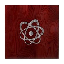 atom-steelwood-PHNz Tile Coaster