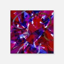 "Curtains-6912x6912 Square Sticker 3"" x 3"""