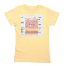 Skin disorders, artwork Girl's Tee