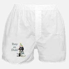 Mastiff Party Boxer Shorts