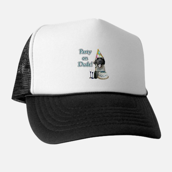 Mastiff Party Trucker Hat
