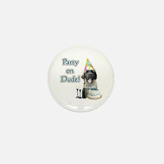 Mastiff Party Mini Button