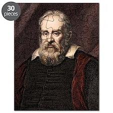 1636 Galileo Galilei portrait astronomer Puzzle