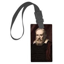 1636 Galileo Galilei portrait as Luggage Tag