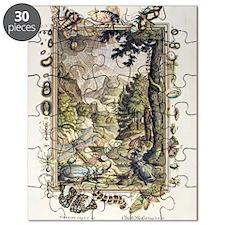 1731 Johann Scheuchzer Creation 5/6th day Puzzle