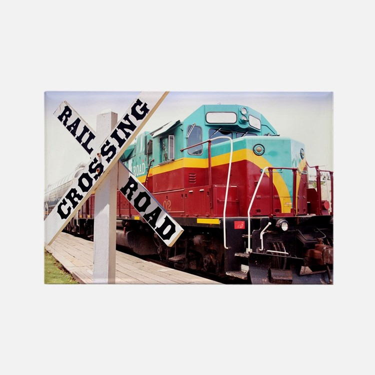 Mount Hood Railroad Rectangle Magnet