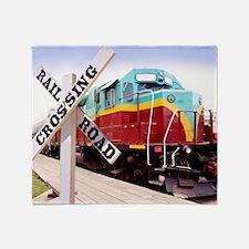 Mount Hood Railroad Throw Blanket