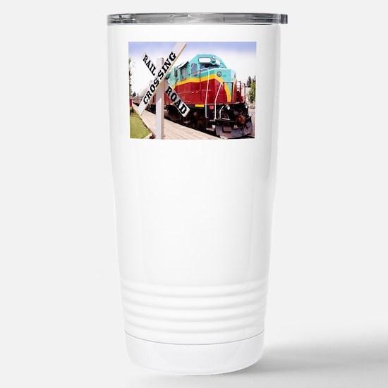 Mount Hood Railroad Stainless Steel Travel Mug