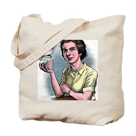 Rosalind Franklin, British chemist Tote Bag