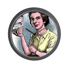 Rosalind Franklin, British chemist Wall Clock