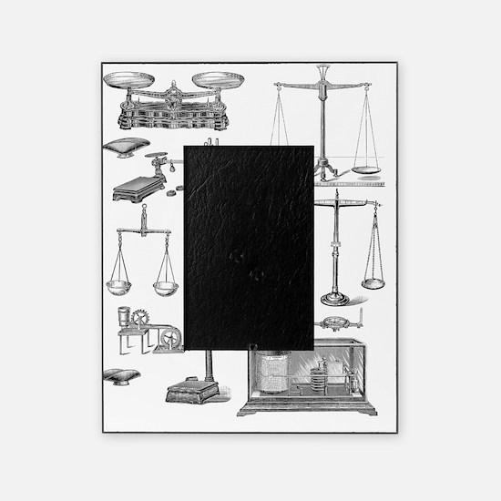 Scientific equipment, historical art Picture Frame