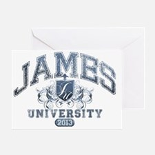 James last name University Class of  Greeting Card
