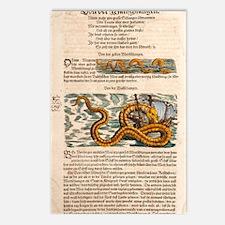 1558 Gessner Sea Serpent Postcards (Package of 8)