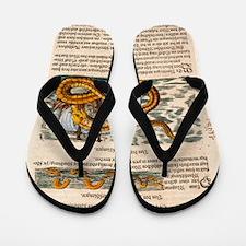 1558 Gessner Sea Serpent Flip Flops