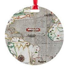 Sir Francis Drake's voyage 1585-158 Ornament