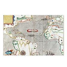 Sir Francis Drake's voyag Postcards (Package of 8)