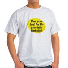 Where are we Going? And Why a T-Shirt