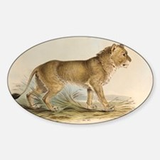 1835 Maneless Indian Lion by Edward Sticker (Oval)