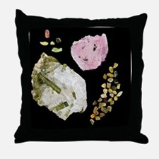 Tourmaline Throw Pillow