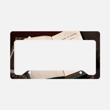 1859 First Edition Origin of  License Plate Holder