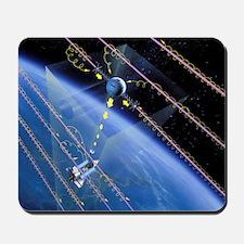TSS-1 tethered satellite, artwork Mousepad