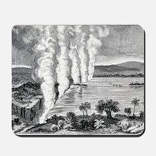 Victoria Falls, 19th century Mousepad
